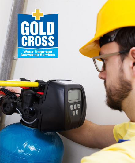 Gold Cross Answering Service for water treatment
